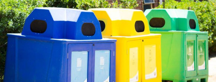 JD Kirsten's recycling collection igloos